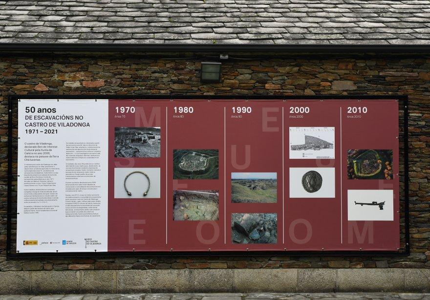 50 Anos de escavacións no Castro de Viladonga. 1971-2021