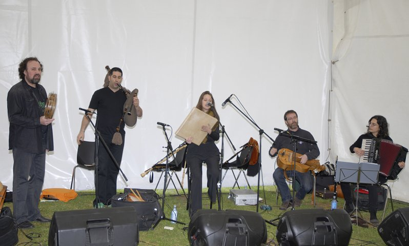 Concert of traditional Galician music