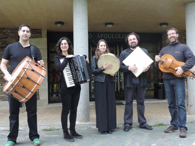 Os Minhotos. Grupo de música tradicional galega