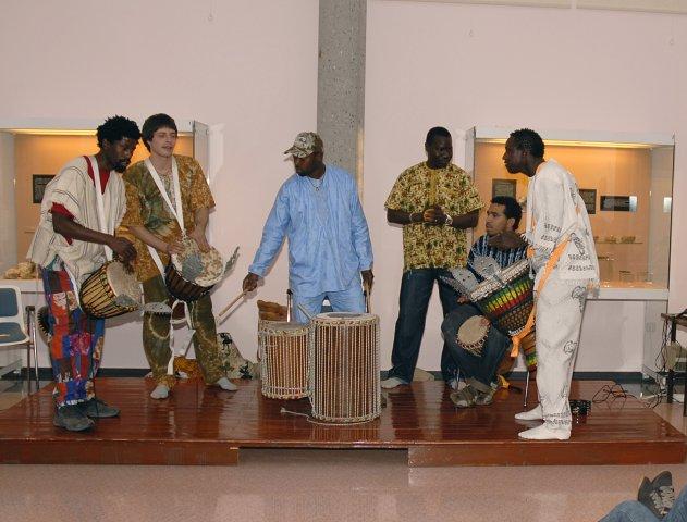Grupo musical Deggo. Noite dos Museos 2008