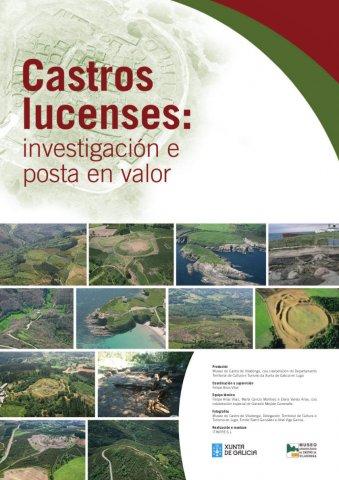 Cartel de la exposición Castros lucenses. Investigación y puesta en valor