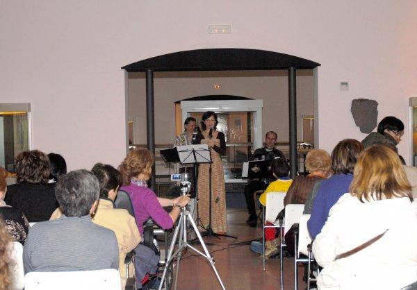 Noemi Mazoy. Noite dos Museos 2009