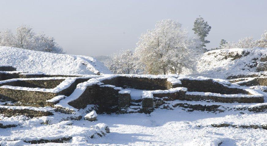 Nieve en el castro. 2008