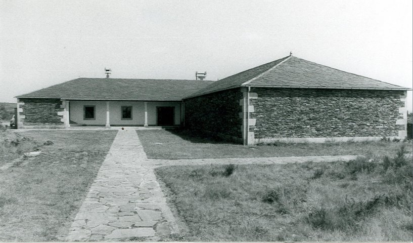 Building of the Museum in the 70s