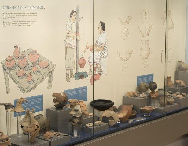 Sala 2. Cultura material I. Cerámica Común Romana