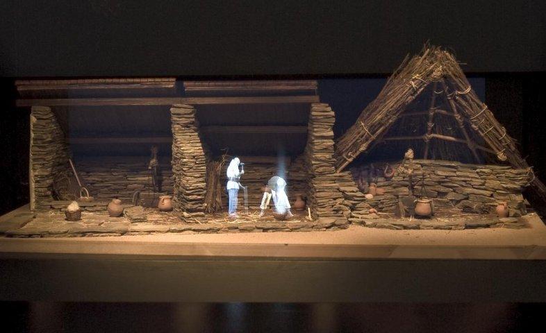 Room 3. Material culture II. Video model