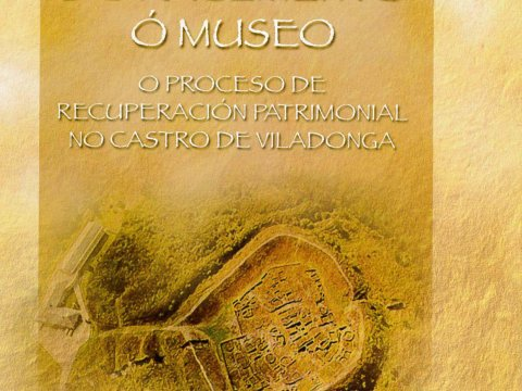 Image of the exhibition From the site to the museum. The process of patrimonial recovering of the Castro de Viladonga