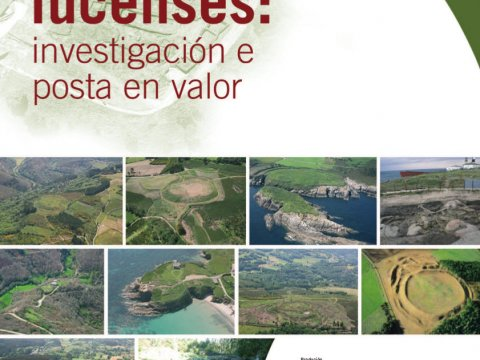 Poster for the exhibition Lugo's Hillforts. Investigation and put in value
